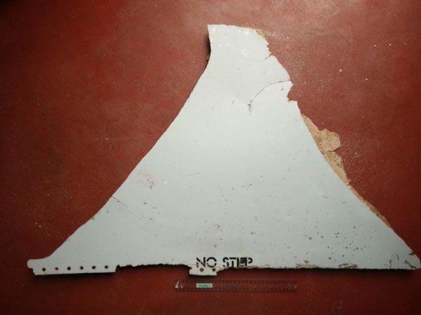 Image: Malaysia Airlines MH370 Mozambique Debris