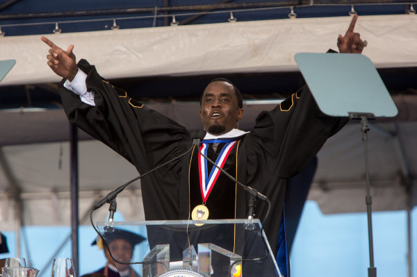 "Sean ""Diddy"" Combs Delivers Commencement Address at Howard University"