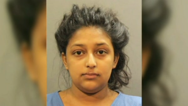 Sharon Seudat, who is charged with second-degree murder in the death of a newborn she allegedly gave birth to in her home.
