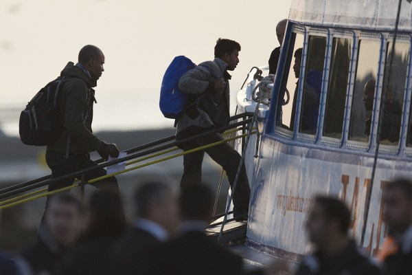 Image: Greece migrants
