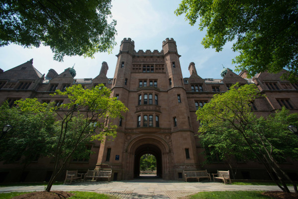 Image: Vanderbilt Hall on the Yale University campus in New Haven
