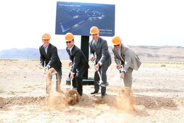 Image: Dag Reckhorn, Brian Sandoval,Tom Wessner, Ding Lei