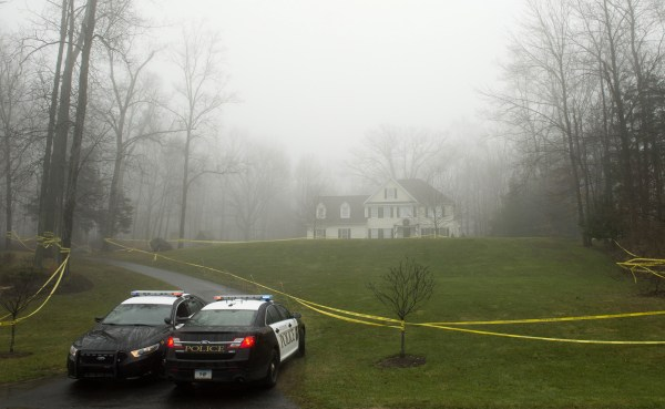 Image: The home of Nancy Lanza in Newtown, Conn.