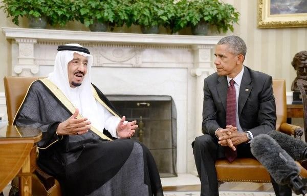 Image: President Obama and Saudi King Salman