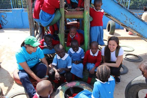 Olivia Rose Fay, Shining Hope for Communities (SHOFCO)