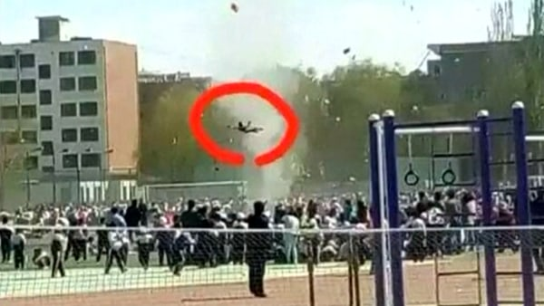 Image: China dust devil