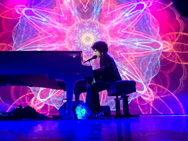 Image: Prince performs at his final concert at the Fox Theater in Atlanta