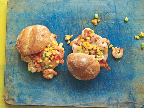 Pati Jinich's Shrimp, Mango and Avocado Rolls.