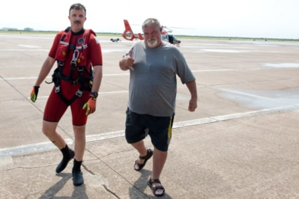 Image: Galveston Bay rescue
