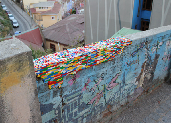 Image: A wall in Valparaiso, Chile