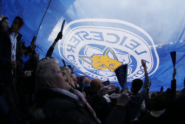 Image: Leicester City fans