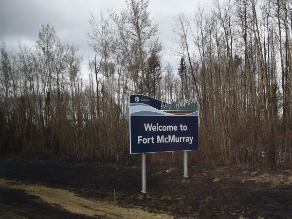 IMAGE: Fort McMurray welcome sign