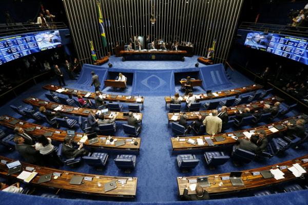 Image: Senate In Brazil Votes On Impeachment Of President Dilma Rousseff