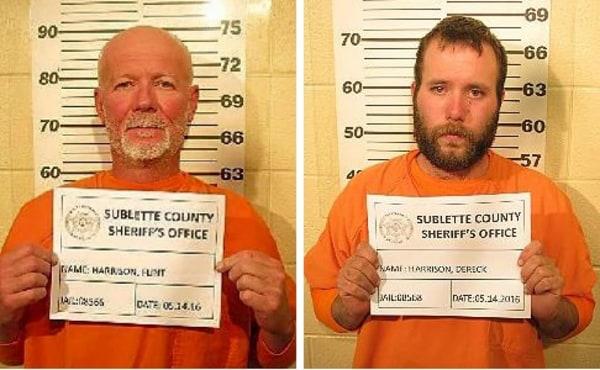IMAGE: Flint and Dereck Harrison