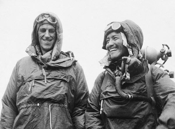 Image: Edmund Hillary and Tenzing Norgay