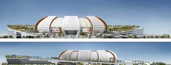 Leyva Architecture, PC designed this multi-sport arena for Doha, Qatar.