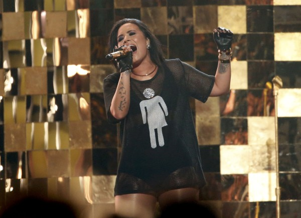 "Singer Demi Lovato performs ""Cool For The Summer"" on stage at the 2016 Billboard Awards in Las Vegas"