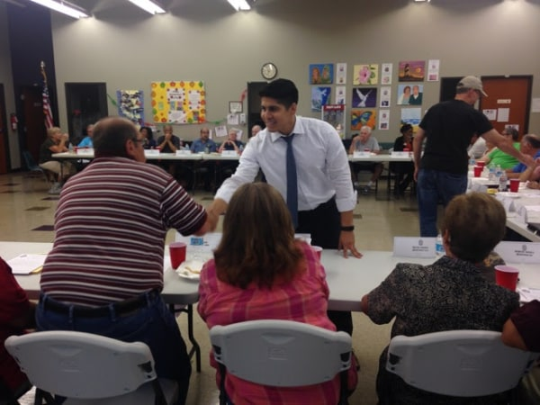 Rey Saldana, City Councilman for San Antonio's 4th District
