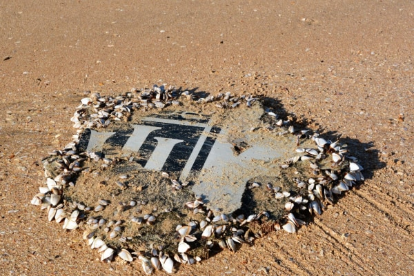 Image: Suspected piece of Flight MH370