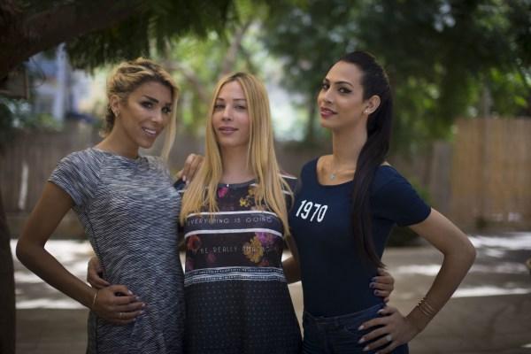 Image: Caroline Khouri, Eileen Ben Zakene and Taline Abu Hana