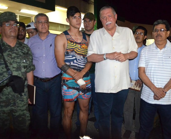 Image: Soccer player Alan Pulido was kidnapped for ransom, Mexican police say