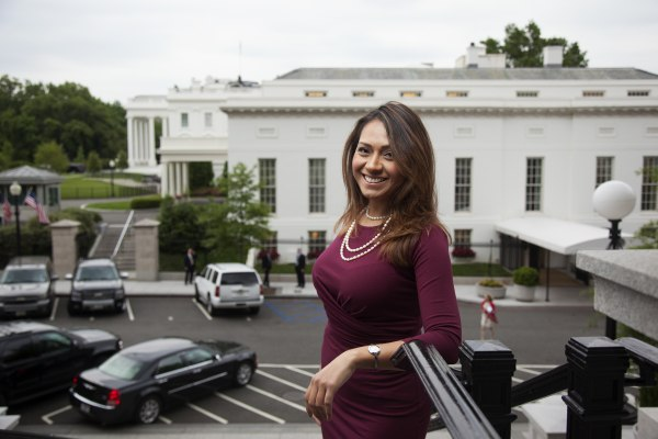 Image: Young Latinos of the Obama White House . Former staffer Andrea Ambriz.