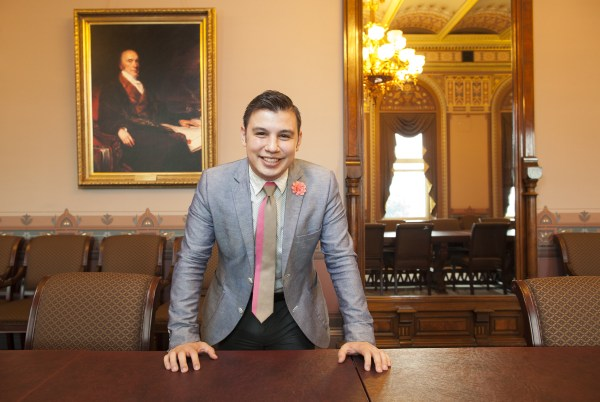 Image: Young Latinos of the Obama White House . Kenny Sandoval