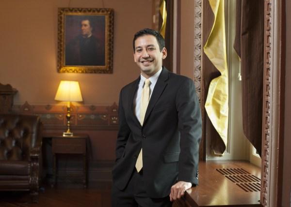 Image: Young Latinos of the Obama White House . Mario Moreno Zepeda