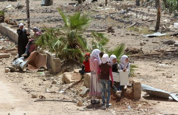 Image: SYRIA-CONFLICT-SIEGE