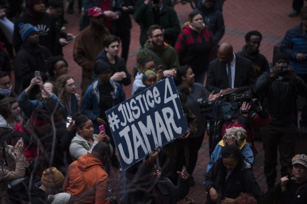 Image: Decision Announced In Jamar Clark Police Shooting Case In Minneapolis
