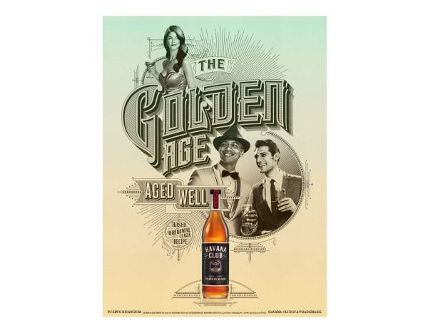 "Bacardi's new ""Havana Club"" rum ad campaign."
