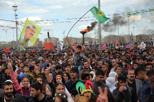 Image: Kurds gather to celebrate Nowruz in Diyarbakir, Turkey