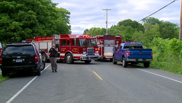 Image: Michigan crash scene