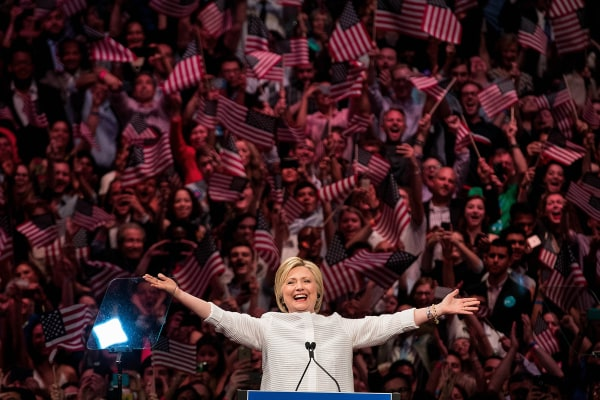 Image: BESTPIX - Hillary Clinton Holds Primary Night Event In Brooklyn, New York