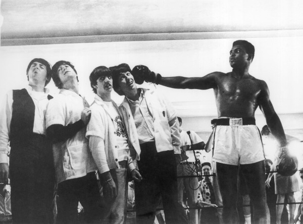 The Beatles And Muhammad Ali In 1964