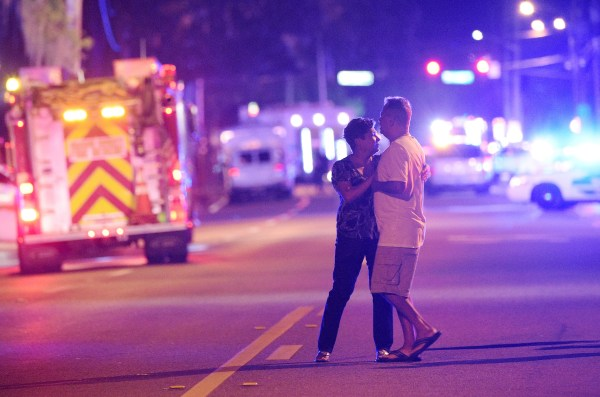 IMAGE: Mass shooting in Orlando