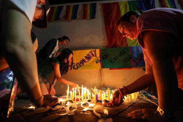 Vigils In Bangkok After The Orlando Shooting