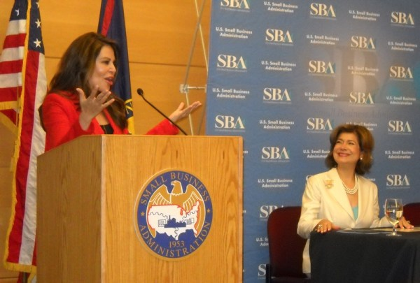 Nely Galan Speaking at U.S. Small Business Administration with Maria Contreras-Sweet