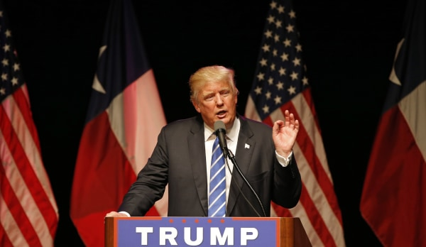 Image: Donald Trump Holds Campaign Rally In Dallas