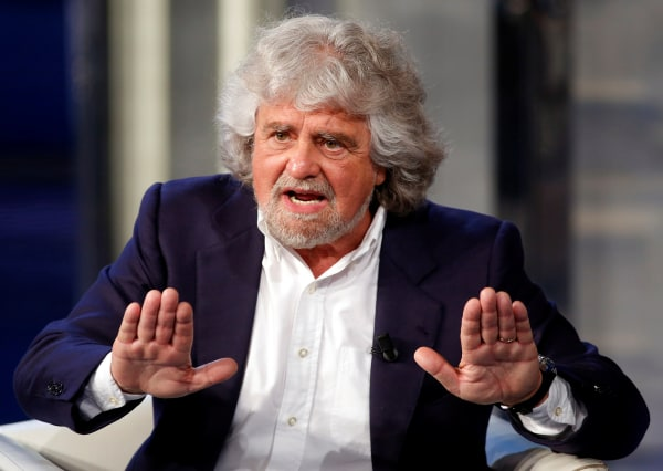 Image: Beppe Grillo in 2014