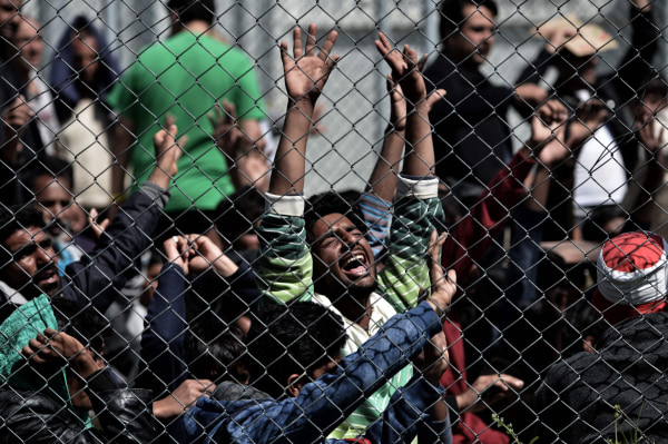 Image: GREECE-EUROPE-MIGRANTS
