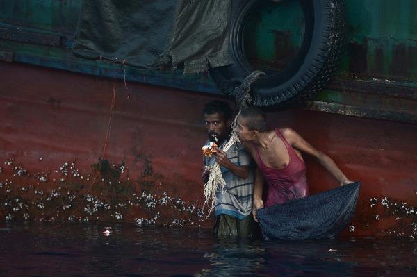 Image: Rohingya migrant