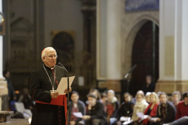 Cardinal Canizares Address the Evening Prayer of the Taize European Youth Meeting in Valencia