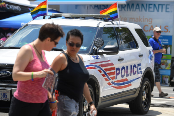 DC Pride Festival in light of mass shooting in Orlando at a gay nightclub