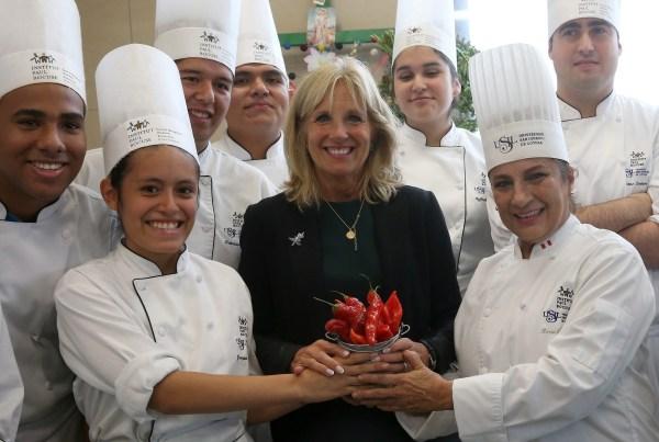 Jill Biden in Peru