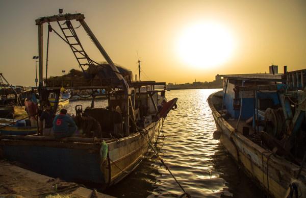Image: Gaza fishermen