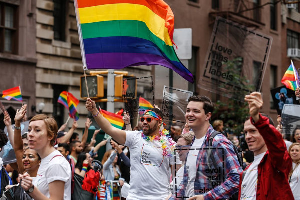 Gay Pride Parade In New York