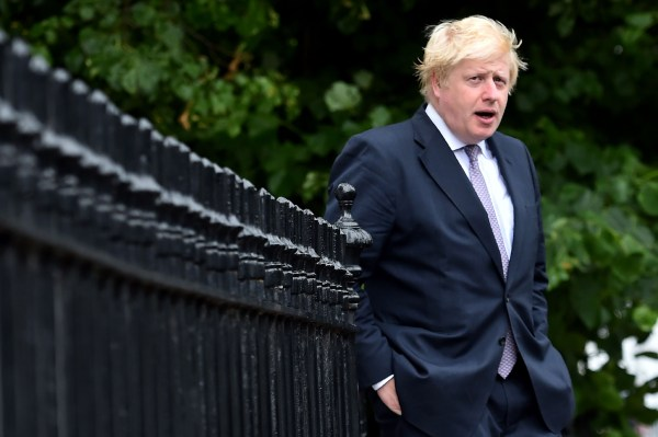 Image: Boris Johnson on June 27, 2016