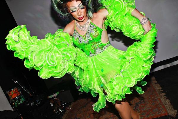 Lady Quesa'Dilla, community activist and drag queen.