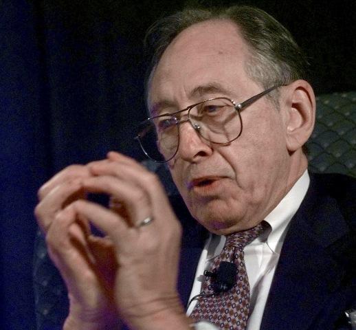 IMAGE: Alvin Toffler in 1998